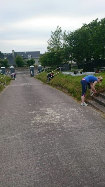 St Mary's Clean Up Millstreet Macra hard at work (337 x 600).jpg