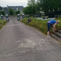 St Mary's Clean Up Millstreet Macra hard at work (337 x 600).jpg