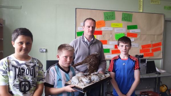 Tony Keneally and Sudents of Boys National School.jpg