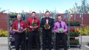 O'Keeffe Supervalu Millstreet Staff and sponsored flowers