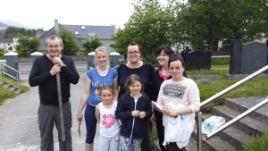 St Marys Clean up Tidy Town with Millstreet Macra